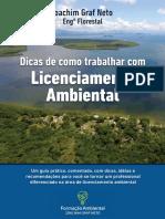 eBook Formação Ambiental - Dicas Como Trabalhar Com Licenciamento Ambiental - Joachim Graf Neto
