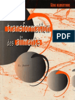Transformation.aliments