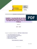 DISEÑO Y VALIDACIÓN DE UN PROGRAMA DE INTERVENCIÓN PSICOLÓGICA