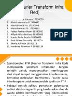 PPT KIMAN FTIR (Fourier Transform Infra Red)
