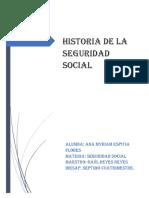 Historia de La Seguridad Social-1