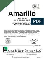 Manual AMARILLO Drive Pump Repair Man 250 350 v0215