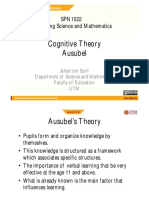 6. Ausubel Deductive Theory