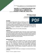 Camarda - Una Aproximación a La Participación de Los Rioplatenses en El Comercio de Esclavizados a Fines Del Siglo Xviii
