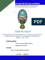 TESIS PERCEPCION DEL USUARIO RESPECTO A LA CALIDAD DE SERVICIOS OFERTADOS POR PARTE DE LAS OPERAD.pdf