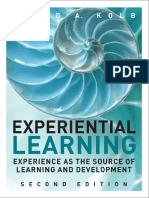 David a. Kolb - Experiential Learning_ Experience as the Source of Learning and Development-Pearson FT Press (2014)