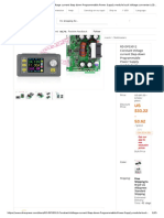 RD DPS3012 Constant Voltage Current Step Down Programmable Power Supply