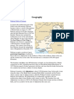 GEOGRAPHICAL AND PHYSICAL FEATURES OF PAKISTAN.docx