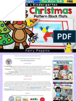 Christmas Pattern Block Mats Fairy Poppins 2
