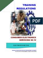 Consumer Electronics Servicing NC IV