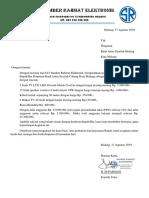 Surat Pengadaan Barang P. Haji