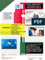 Mitos, Prejuicios y Realidades de La Educación Virtual - Infografia