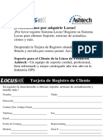 Locus System Spanish Manual