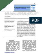 Analisis Data Mining
