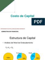 Cos to de Capital