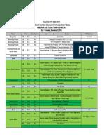 Agenda Kogei Pit Hatti 2019