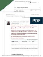 planeación didáctica Unidad 1 Desarrollo sustentable