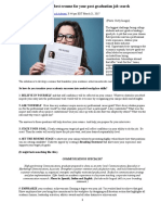 10 Tips for Writing the Best Resume for Your Post