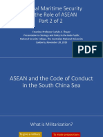 Thayer Regional Maritime Security and the Role of ASEAN, Pt. 2.pptx