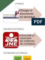 Los Órganos Electorales