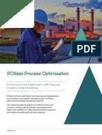 Datasheet ROMeo Process Optimisation En
