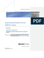 Windows Server 2008 Setup