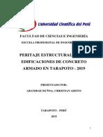 Peritaje estructural de edificaciones de concreto