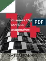 14 Business Ideas for 2020 Millionaires