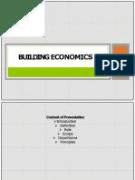 Building Economics Int,Role,Scope,Imp Converted