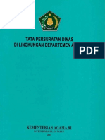 Tata Persuratan Dinas di Lingkungan Departemen Agama-2011.pdf