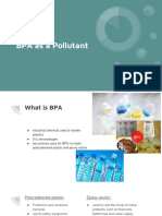 bpa as a pollutant