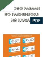 Visual aids Handwashing and Hygiene