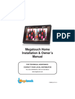 Megatouch Home Manual