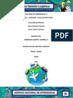 Evidencia 15.1 Asesoria Caso Exportacion
