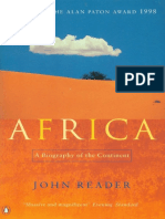 Reader, John - Africa a Biography of the Continent