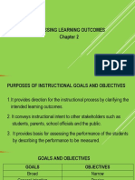 Chapter 2 Assessing Learning Outcomes