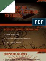 Seminário - História da Educação Escolar no Brasil.pptx