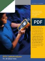 Fluke DTX 1800 CableAnalyzer Brochure