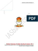 Indian Society and Poverty Issues GS 1