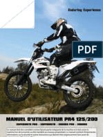 AJP MOTOS - PR4 Manuel D'Utilisateur