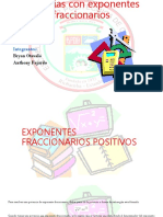 Potencias Con Exponentes Fraccionarios