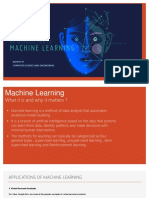introduction on machine learening