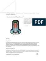 Electrochemical DrägerSensor®