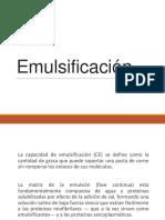 Emulsificación