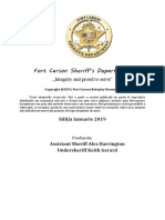 Fort Carson Sheriff