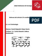 Reforma Del Articulo