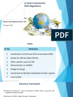 Overseas Direct Investments