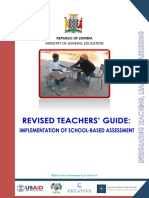 Revised Teachers Guide
