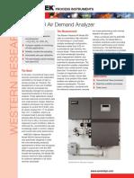AMETEK 900 Air Demand Analyzer10