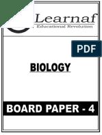 12th Board Test 4 Paper of Biology by Hemant Maurya Sir